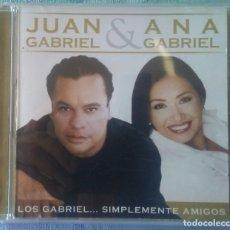 CDs de Musique: JUAN GABRIEL & ANA GABRIEL SIMPLEMENTE AMIGOS SONY/BMG 2007. Lote 175348075