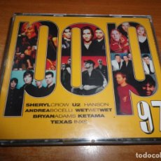 CDs de Música: POP 97 DOBLE CD DEL AÑO 1997 MARTA SANCHEZ TEXAS U2 CIENCIAS NATURALES BOYZONE HANSON INXS ERA. Lote 175353324