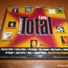 CDs de Música: EXITO TOTAL DOBLE CD 1997 ANA TORROJA JUAN PERRO DEPECHE MODE GARY BARLOW AQUA NO DOUBT U2 2 CD. Lote 175353809
