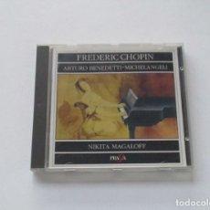CDs de Música: CHOPIN - ARTURO BENEDETTI, MICHELANGELI, NIKITA MAGALOFF. Lote 175396029