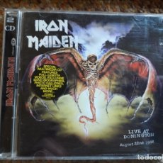 CDs de Música: IRON MAIDEN , LIVE AT DONINGTON , 1992 , 2XCD 1998 ESTADO IMPECABLE . Lote 175439985