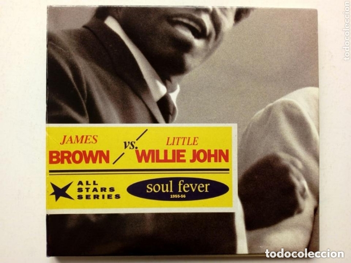 CD : JAMES BROWN - LITTLE WILLIE JOHN - SOUL FEVER SELECTED SINGLES 1955-56 - ALL STARS SERIES (Música - CD's Jazz, Blues, Soul y Gospel)