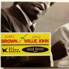CDs de Música: CD : JAMES BROWN - LITTLE WILLIE JOHN - SOUL FEVER SELECTED SINGLES 1955-56 - ALL STARS SERIES. Lote 175451487