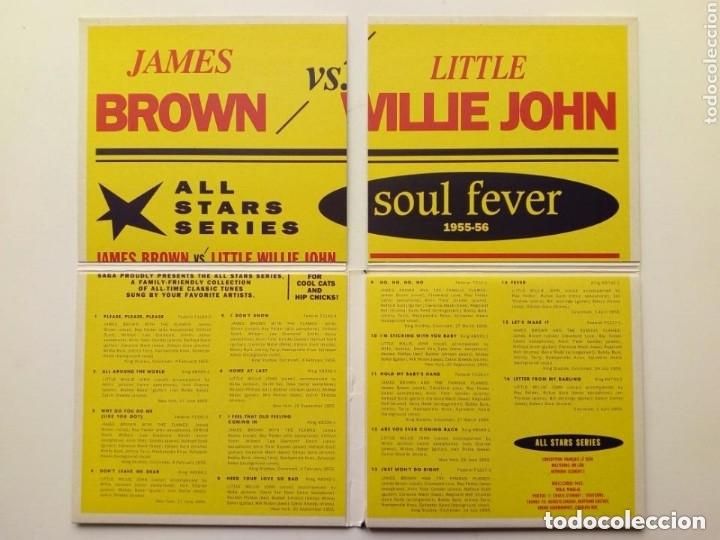 CDs de Música: CD : JAMES BROWN - LITTLE WILLIE JOHN - Soul Fever Selected Singles 1955-56 - All Stars Series - Foto 2 - 175451487