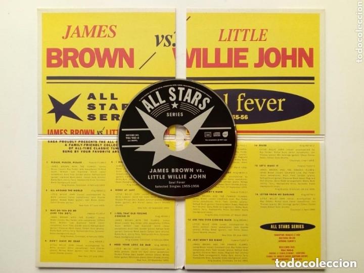 CDs de Música: CD : JAMES BROWN - LITTLE WILLIE JOHN - Soul Fever Selected Singles 1955-56 - All Stars Series - Foto 3 - 175451487