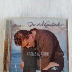 CDs de Música: DAVID CASTEDO. CARTAS DE AMOR.. Lote 175519384