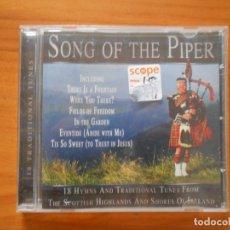CDs de Música: CD SONG OF THE PIPER (L7). Lote 175534763