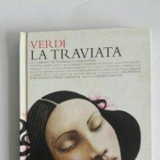 CDs de Música: VERDI LA TRAVIATA LIBRO CD. Lote 175554184