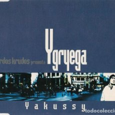 CDs de Música: YGRYEGA - YAKUSSY - CD-SG. Lote 133131266