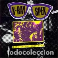 CDs de Música: X-RAY SPEX - LIVE AT THE ROXY CLUB. Lote 175611293