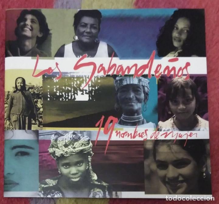 LOS SABANDEÑOS (19 NOMBRES DE MUJER) CD 1998 (Música - CD's Melódica )