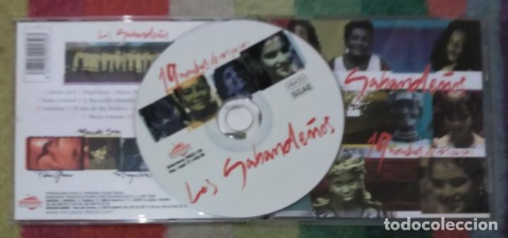 CDs de Música: LOS SABANDEÑOS (19 NOMBRES DE MUJER) CD 1998 - Foto 2 - 175617733