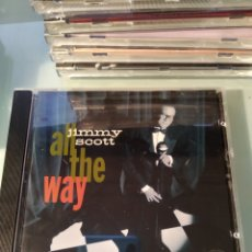 CDs de Música: JIMMY SCOTT ‎– ALL THE WAY. Lote 175627507