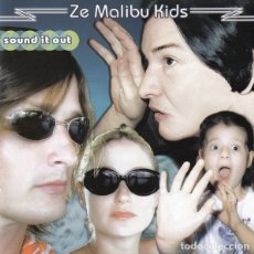 CDs de Música: ZE MALIBU KIDS - SOUND IT OUT. Lote 175665827