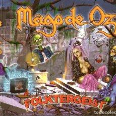 CDs de Música: DOBLE CD ÁLBUM + 2 LIBRETOS: MAGO DE OZ - FOLKTERGEIST - 18 TRACKS - LOCOMOTIVE MUSIC 2002. Lote 175665962