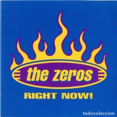 CDs de Música: THE ZEROS - RIGHT NOW! . Lote 175666463