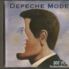 CDs de Música: CD DEPECHE MODE: SEE YOU (LIVE IN CONCERT 1983). Lote 175679522