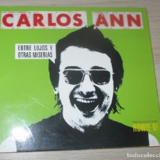 CDs de Música: CARLOS ANN ENTRE LUJOS Y OTRAS MISERIAS CD ALBUM DIGIPACK 2001. Lote 175684298
