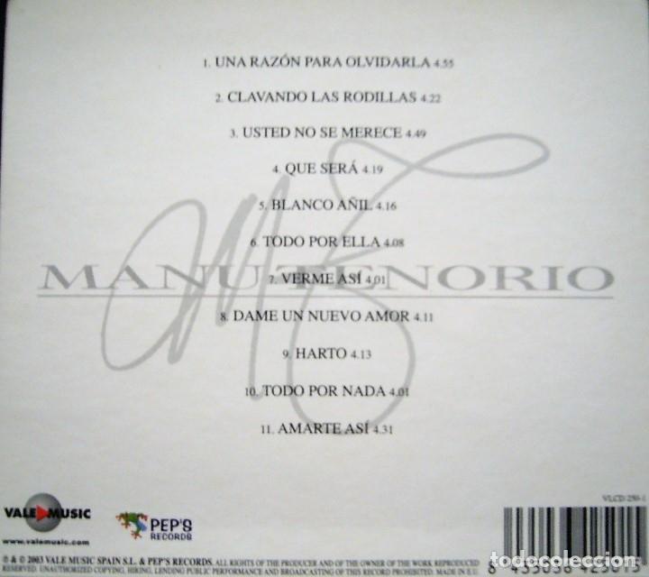 CDs de Música: MANU TENORIO - BLANCO AÑIL - Foto 2 - 175693147
