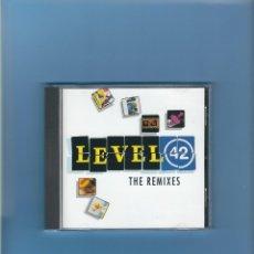 CDs de Música: CD - LEVEL 42 - THE REMIXES. Lote 175763889