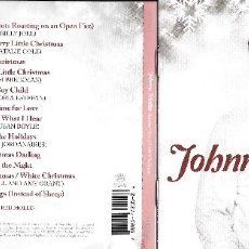 CDs de Música: JOHNNY MATHIS - SENDING YOU A LITTLE CHRISTMAS. Lote 175775970