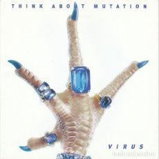 CDs de Música: THINK ABOUT MUTATION - VIRUS. Lote 175776477