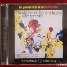CDs de Música: DIANA ROSS AND THE SUPREMES - JOIN THE TEMPTATIONS - MOTOWN. Lote 175788568