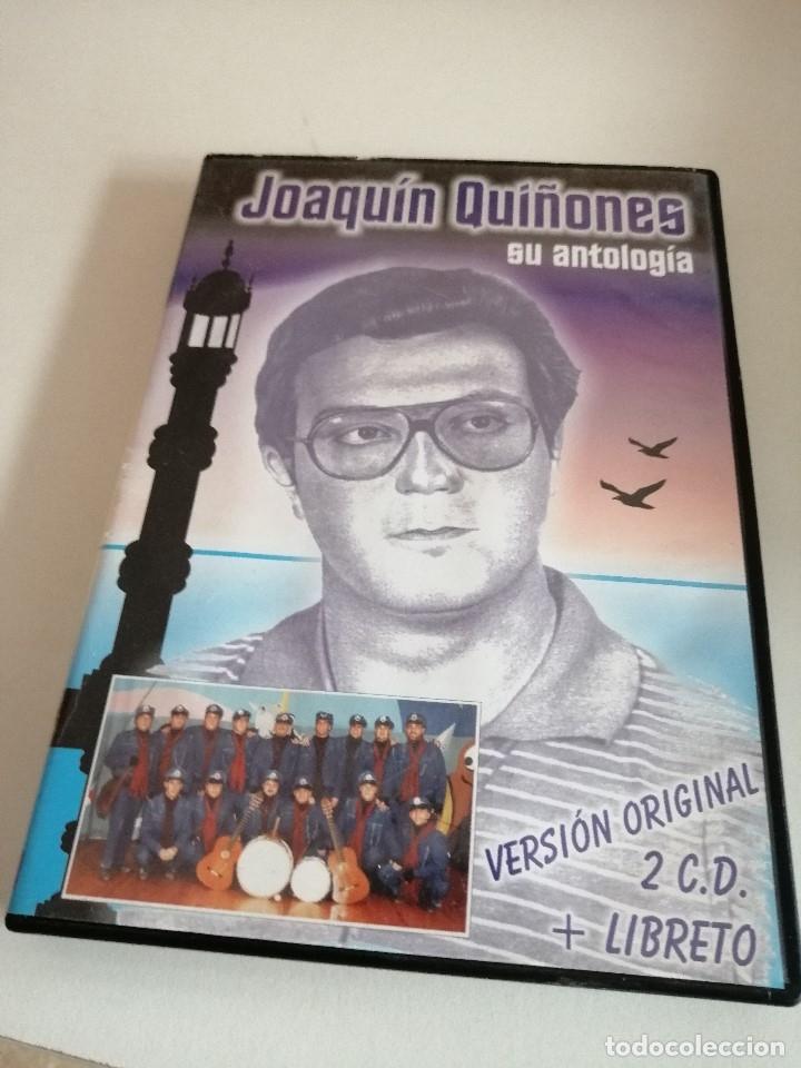 C-REG80 JOAQUIN QUIÑONES SU ANTOLOGIA VERSION ORIGINAL 2 CD Y LIBRETO (Música - CD's Otros Estilos)