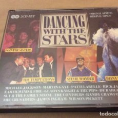 CDs de Música: DANCING WITH THE STARS. VARIOUS ARTITS. DIANA ROSS, STEVIE WONDER, MICHAEL JACKSON. 2CD.. Lote 175807023