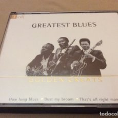 CDs de Música: GREATEST BLUES GOLDEN GREATS HOW LONG BLUES - DUST MY BROOM - THAT'S ALL RIGHT MAMA. 3CD. 2001.. Lote 175807584