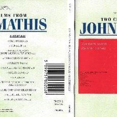 CDs de Música: JOHNNY MATHIS - JOHNNY'S MOOD / FAITHFULLY. Lote 175814345