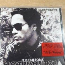 CDs de Música: LENNY KRAVITZ IT IS TIME FOR A REVOLUTION. Lote 175818672