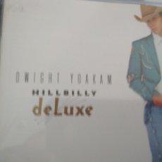 CDs de Música: DWIGHT YOAKAM HILLBILLY DELUXE CD. Lote 175841154