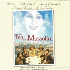 CDs de Música: TEA WITH MUSSOLINI / ALESSIO VLAD & STEFANO ARNALDI CD BSO. Lote 175841855