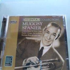 CDs de Música: MUGGSY SPANIER - ESSENTIAL COLLECTION (DOBLE CD). Lote 175843068