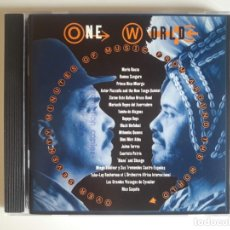 CDs de Música: CD ONE WORLD - MUSIC FROM AROUND THE WORLD.. Lote 175856352