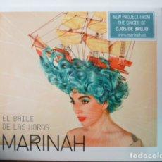 CDs de Música: MARINAH- EL BAILE DE LAS HORAS-CD DE LA CANTANTE DE OJOS DE BRUJO--. Lote 175856637