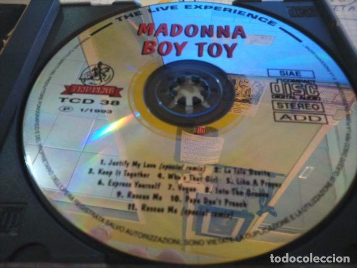 CDs de Música: CD -- MADONNA -- BOY TOY -- 11 TEMAS -- - Foto 4 - 175861209