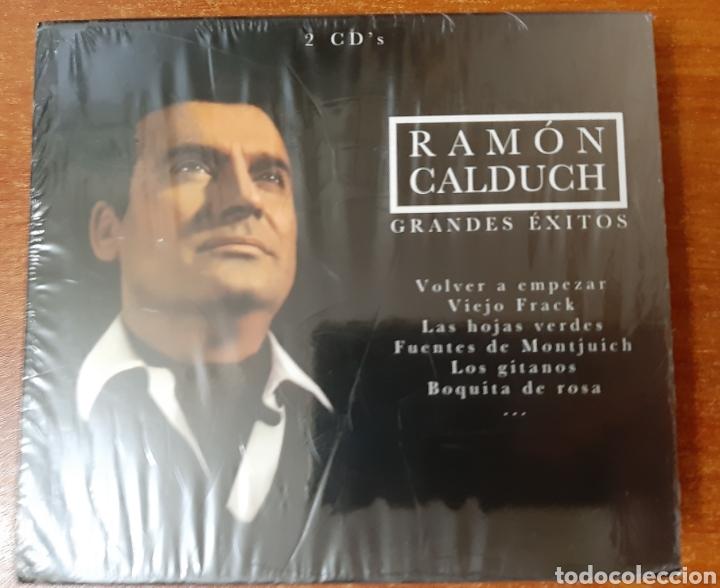 2 CD'S RAMÓN CALDUCH GRANDES ÉXITOS (ART. NUEVO Y PRECINTADO) (Música - CD's Otros Estilos)