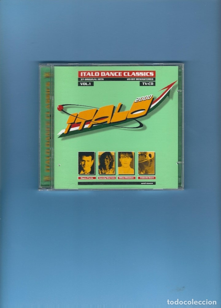 2 CD'S - ITALO DANCE CLASSICS - 37 CANCIONES (Música - CD's Disco y Dance)