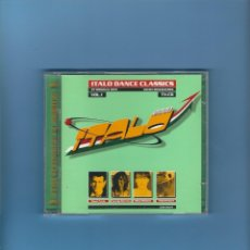 CDs de Música: 2 CD'S - ITALO DANCE CLASSICS - 37 CANCIONES. Lote 175888287
