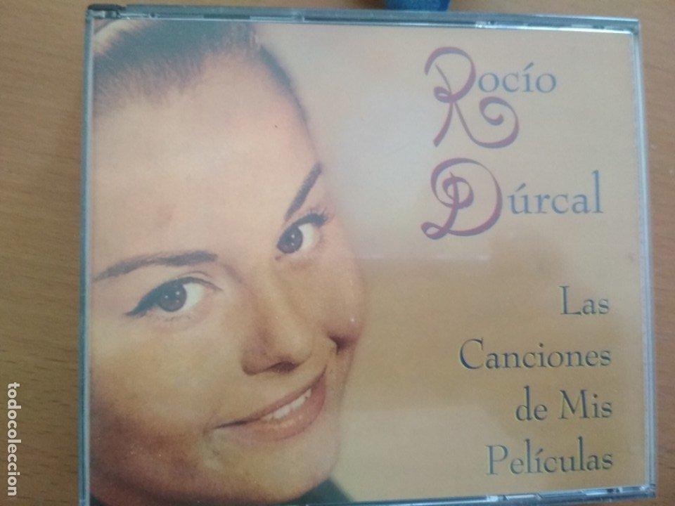 ROCIO DURCAL LAS CANCIONES DE MIS PELICULAS CAJA CON DOS CDS Y LIBRETO (Música - CD's Flamenco, Canción española y Cuplé)