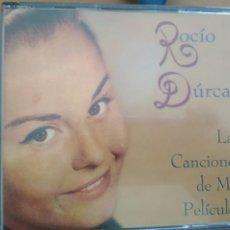 CDs de Música: ROCIO DURCAL LAS CANCIONES DE MIS PELICULAS CAJA CON DOS CDS Y LIBRETO. Lote 175888334