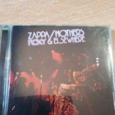 CDs de Música: FRANK ZAPPA ROXY AND ELSEWHERE. Lote 175905829