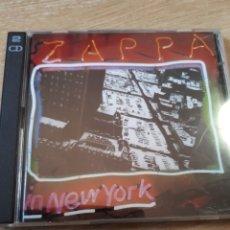 CDs de Música: FRANK ZAPPA IN NEW YORK DOBLE CD. Lote 175905898