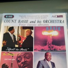 CDs de Música: COUNT BASIE AND HIS ORCHESTRA ‎– FOUR CLASSIC ALBUMS (DOBLE CD). Lote 175915263