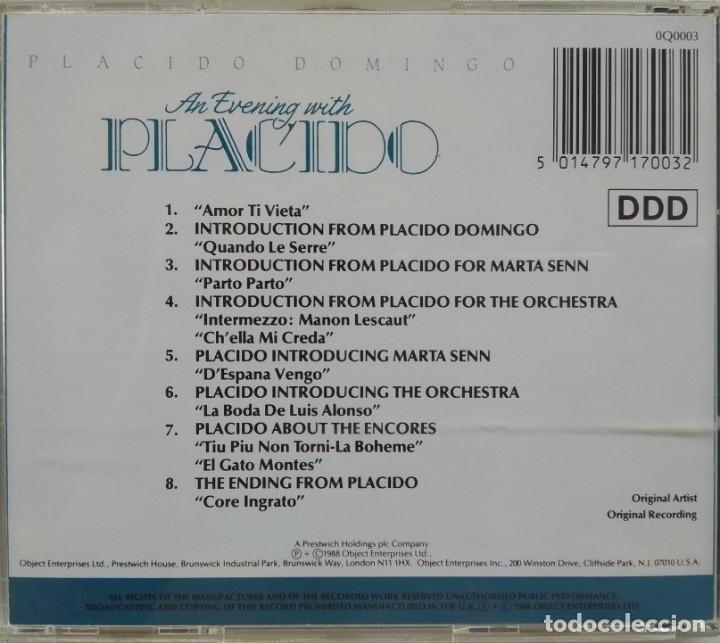 CDs de Música: Placido Domingo / CD MPO 1998 - Foto 2 - 175916397