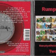 CDs de Música: RUMPLESTILTSKIN: RUMPLESTILTSKIN + BLACK MAGICIAN. EXCELENTE HARD ROCK BRITÁNICO. TOQUE PROGRESIVO. Lote 175923208