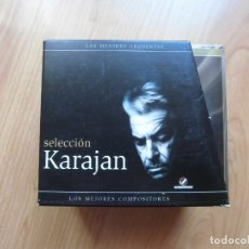 CDs de Música: CAJA 10 CD'S SELECCIÓN VON KARAJAN. Lote 175937805