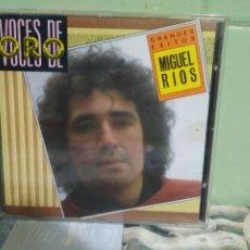 CDs de Música: MIGUEL RIOS GRANDES EXITOS CD ALBUM DEL AÑO 1988 COLECCION VOCES DE ORO CONTIENE 12 TEMAS. Lote 175945243